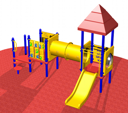 Small, Toddler Playsystem #5098