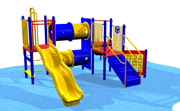 Our most popular playset accommodates about 25 children!