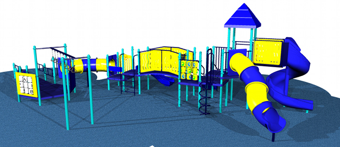 Commercial Grade Playground Equipment for ages 2-12