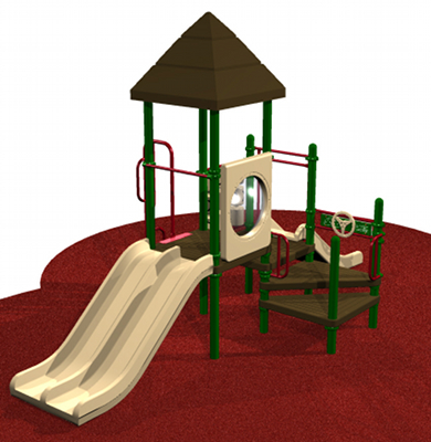 Most Popular Playground system with various play activities for children
