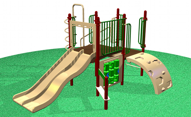 Commercial Grade Playground Equipment 6615