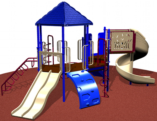 Commercial Playground for Ages 2-12
