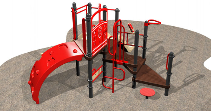 Small, Compact Kids Playsystem #6946-111