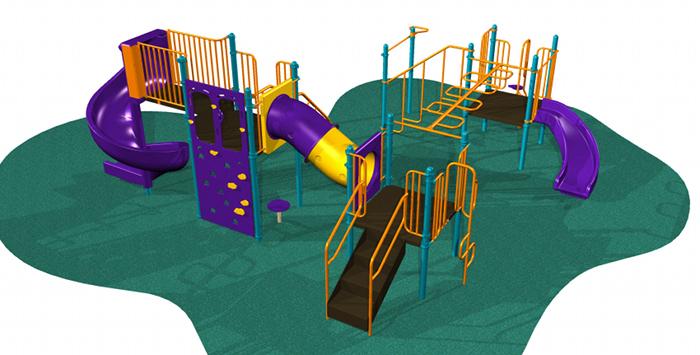 3 Section Kids Playsystem #7002