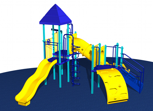 Small, ADA Compliant Kids Playsystem #7079