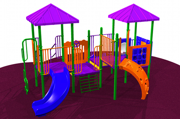 Small Toddler Playsystem #7135