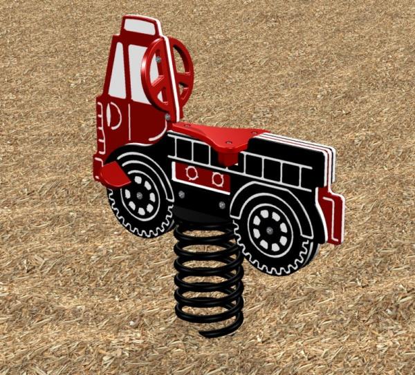 Red Firetruck Spring Rider