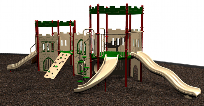 Castle Themed Playgrounds & Playground Equipment