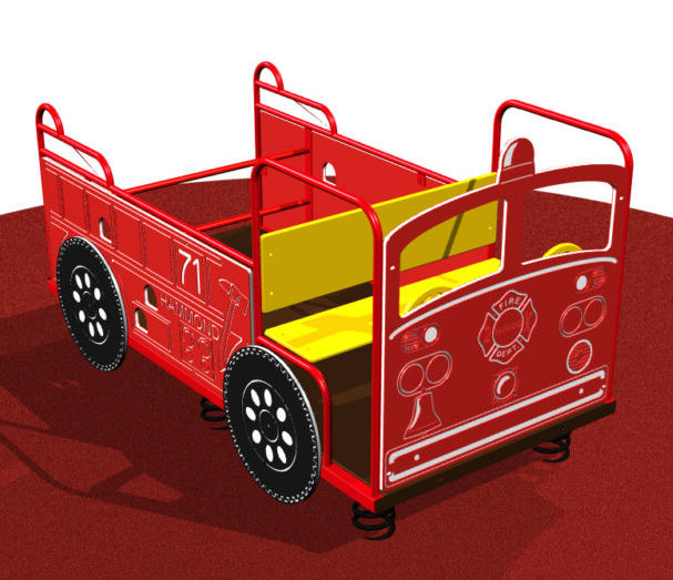 Spring Fire Truck Playsystem For Toddlers 69608 Kidstuff