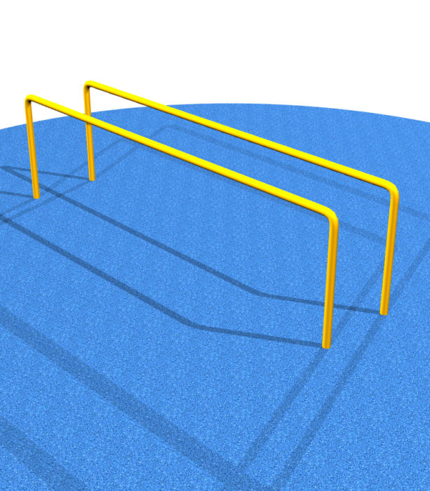 Parallel Bars and Sign  #HTK15