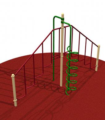 Quad Playground Climber