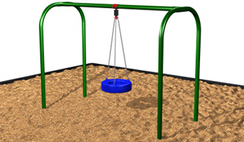 Commercial Playground Tire Swing