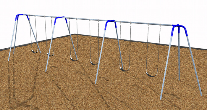 Tripod Swings for Commercial Playgrounds
