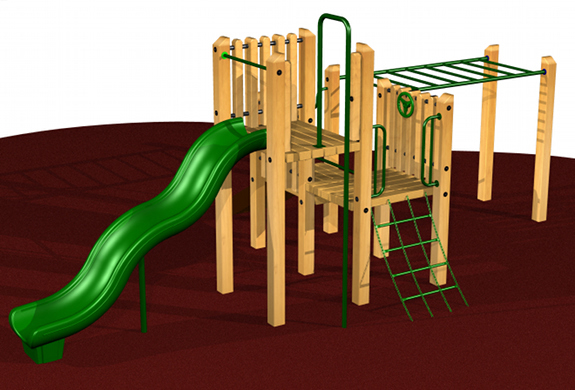 Small Wooden Playsystem #2606