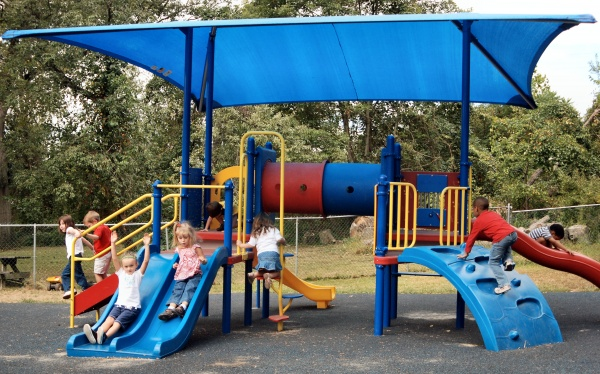 Built-In Playground Sun Shelter for Sale