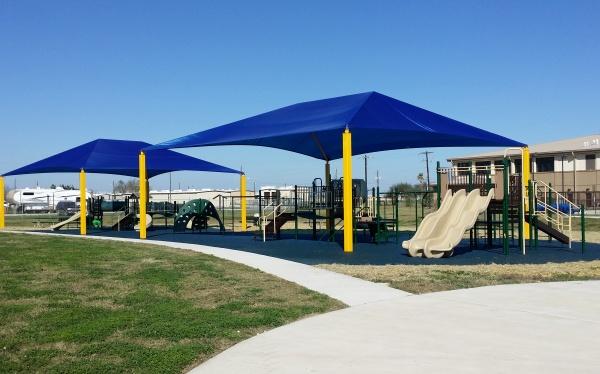 Freestanding Sun Shelters