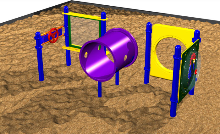 Large Playground System for Toddlers