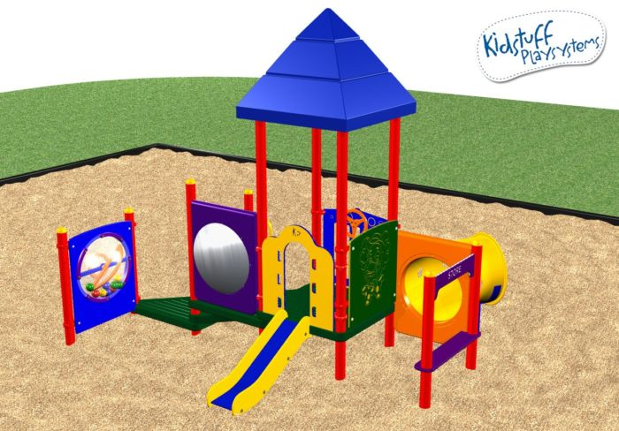 Playground Equipment with 7 Events for Toddlers