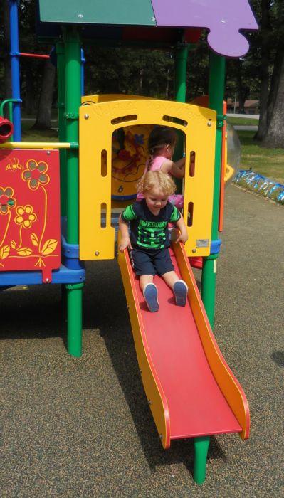 Tiny Tot Playground Slide