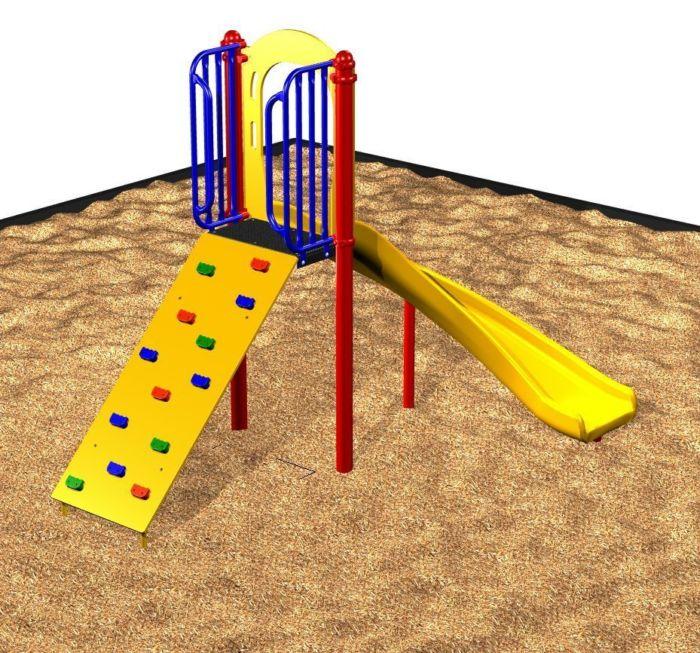 Playground Quarter-Turn Slide