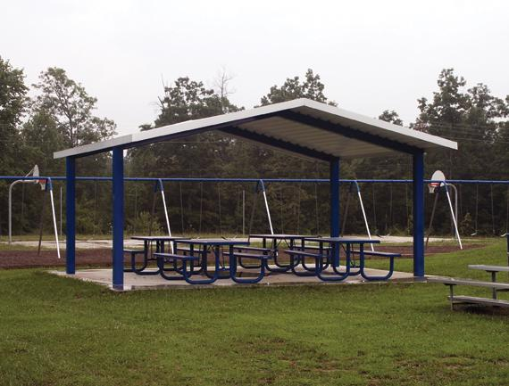Steel Roof Park Shelter for Sale