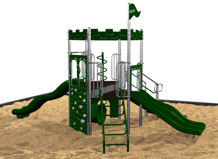 Commercial Knights' Castle Playground Equipment