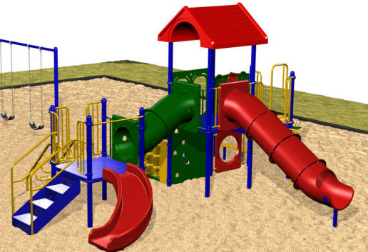Playground Equipment for Preschools, Ages 2-5