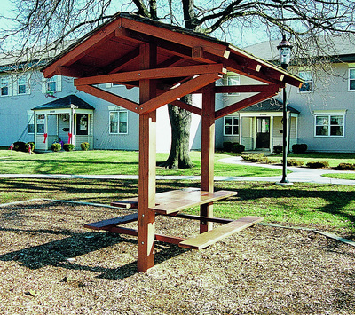 Shelter & Picnic tables for Parks