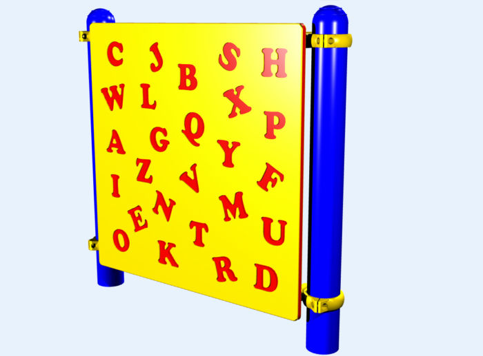 Alphabet Playground Panel