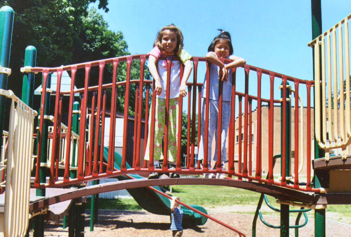 Arch Bridge for Playgrounds