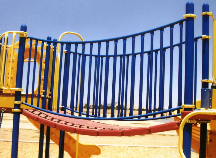 Clatter Bridge for Playgrounds