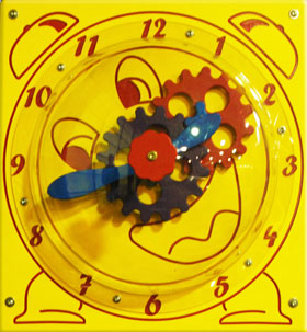 Clockwork Gear Playground Panel