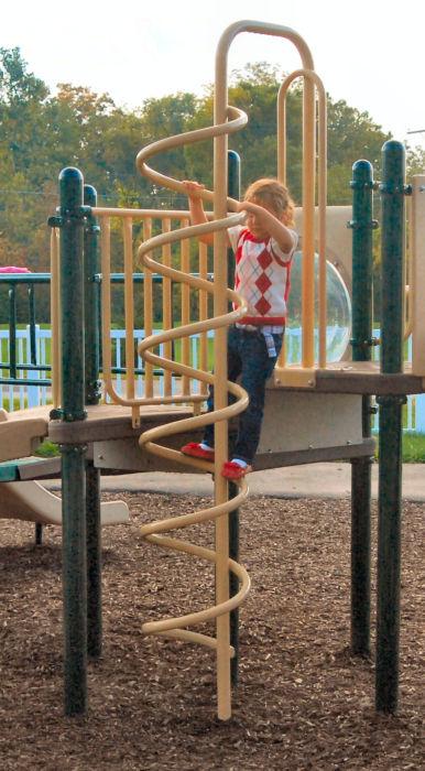 Coil Playground Climber