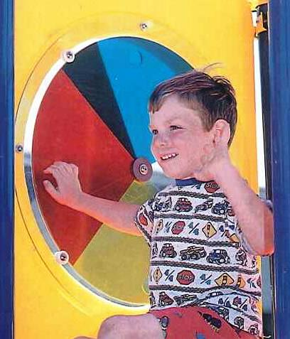 Interactive Colorwheel Playground Panel