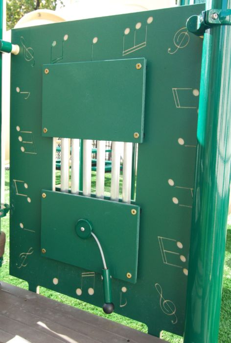 Musical Chime Playground Panel