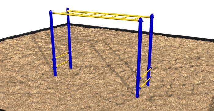 Straight Overhead Playground Ladder