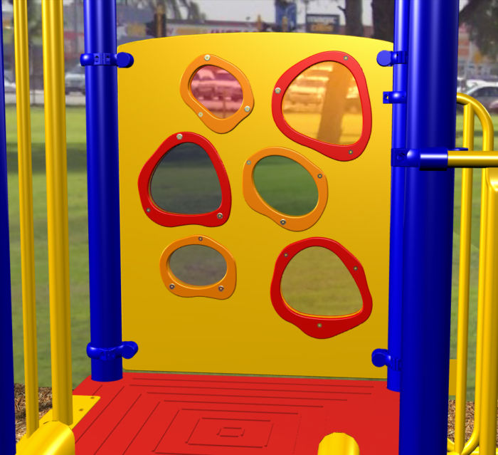 Peek-a-Boo Playground Panel