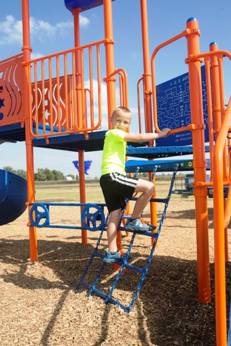 Chain Net Climber Playground Attachment