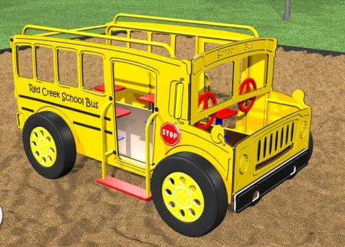 Spring School Bus #87308