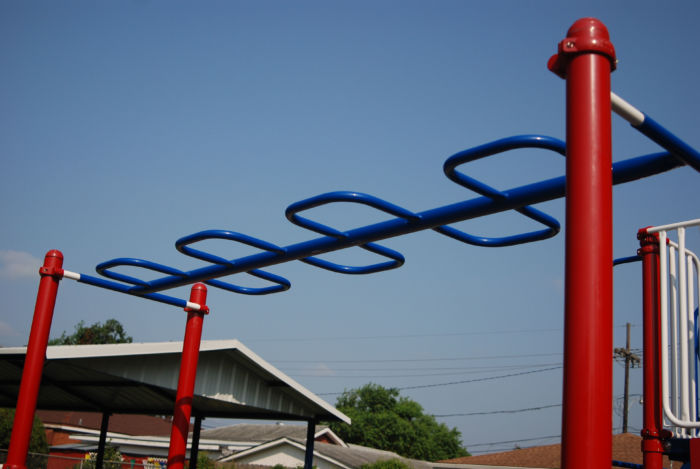 Snake Overhead Playground Ladder