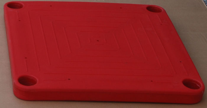 Square Molded Polyethylene Deck Plate