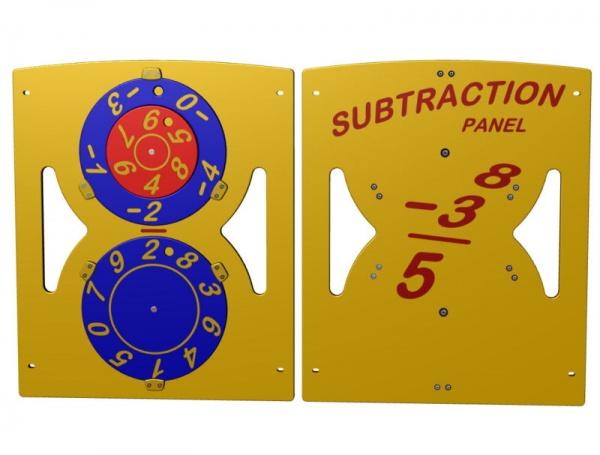 Subtraction Playground Panel