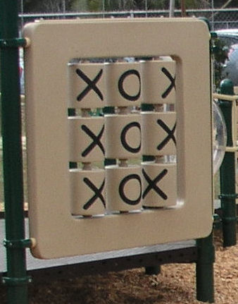 Tic-Tac-Toe Playground Wall
