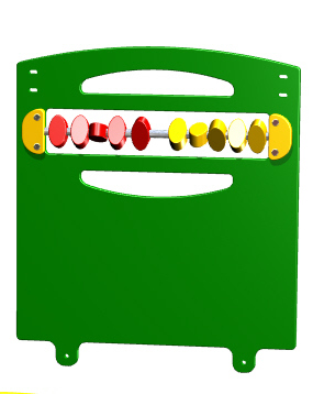 Toddler Abacus Playground Panel