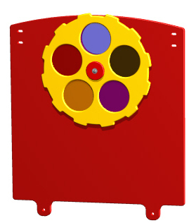 Tot Color Wheel Panel