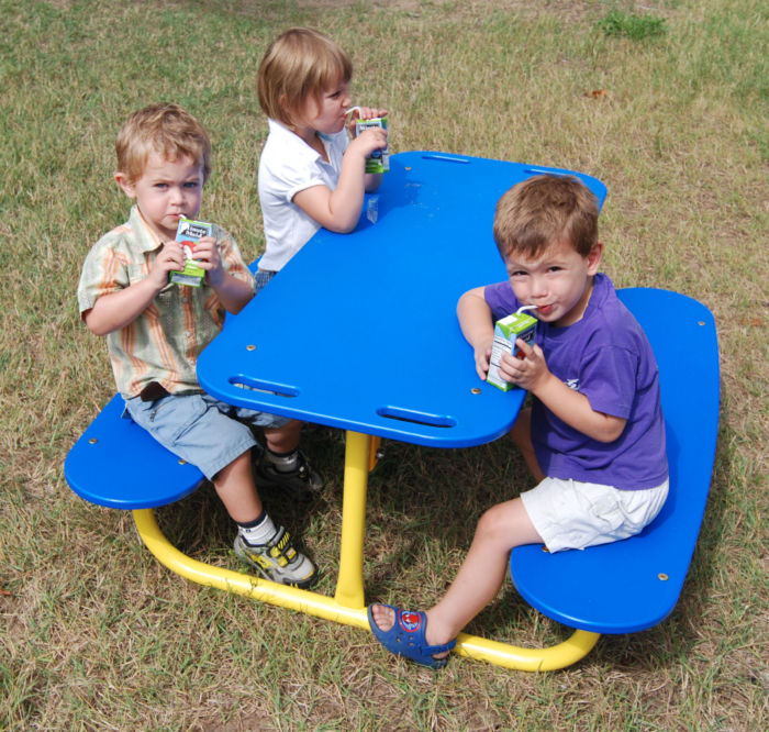 Park Picnic Tables for Kids & Toddlers