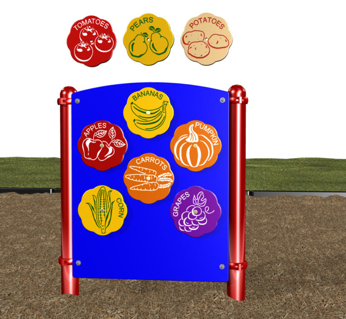 Fruit and Vegetable Spinner Panel