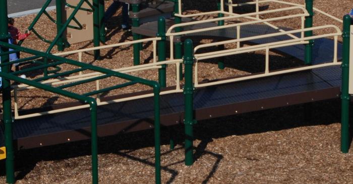 Playground Wheelchair Ramp