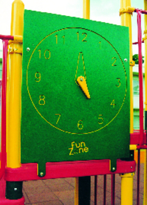 Interactive Clock Playground Panel
