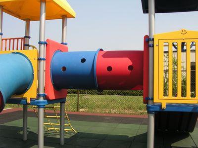 Horizontal Crawl Playground Tunnel